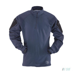 T.R.U. 1/4 ZIP COMBAT SHIRT 65/35 Polyester/Cotton Rip-Stop-TRU-SPEC-S8 Products Group