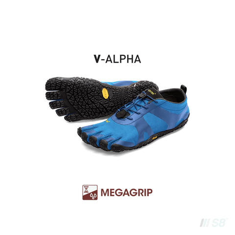 V-Alpha – Mens (Blue)-Vibram FiveFingers-S8 Products Group