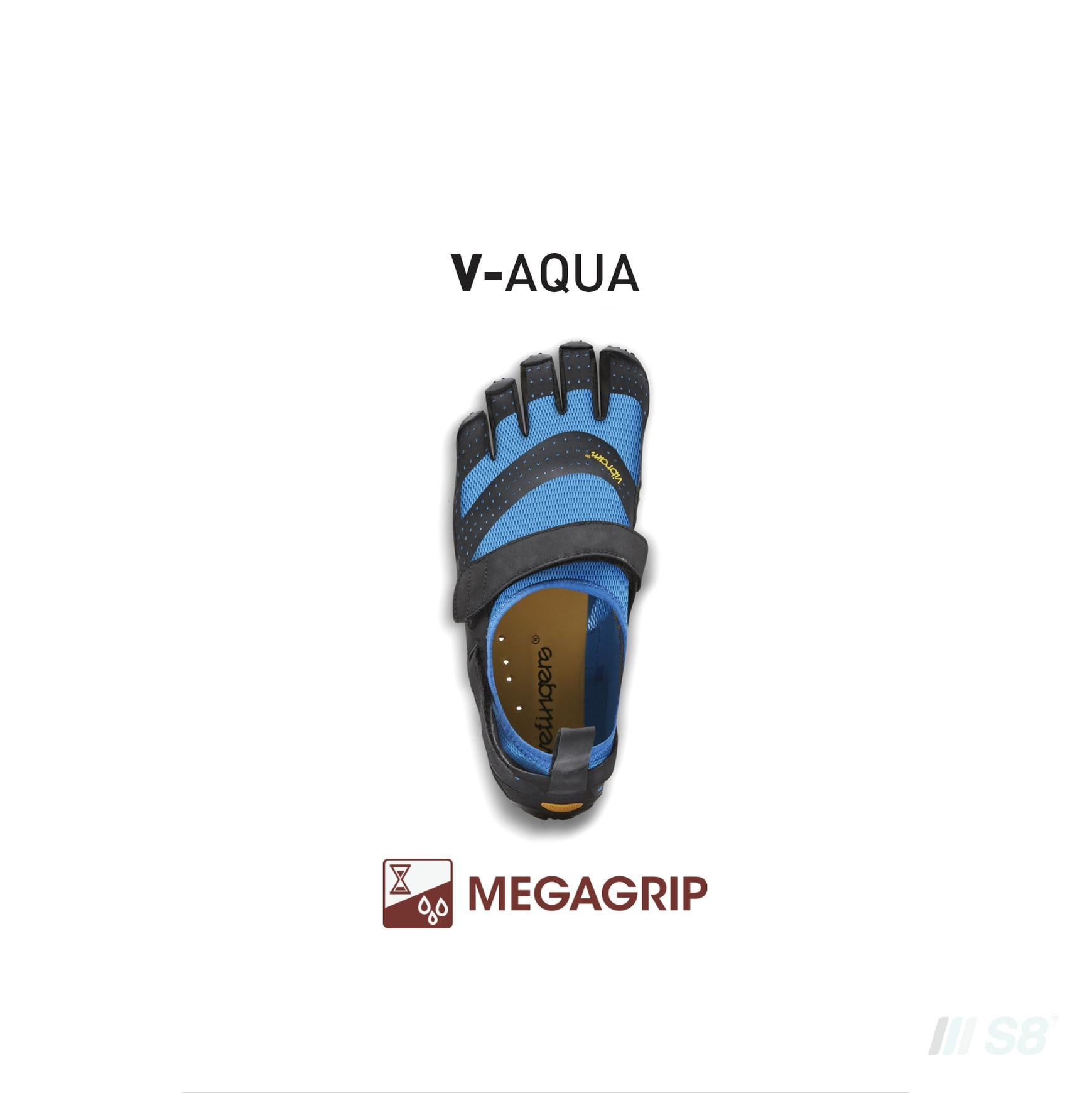V-Aqua – Mens (Blue)-Vibram FiveFingers-S8 Products Group