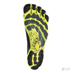 V-RUN – Mens (Black/Yellow)-Vibram FiveFingers-S8 Products Group