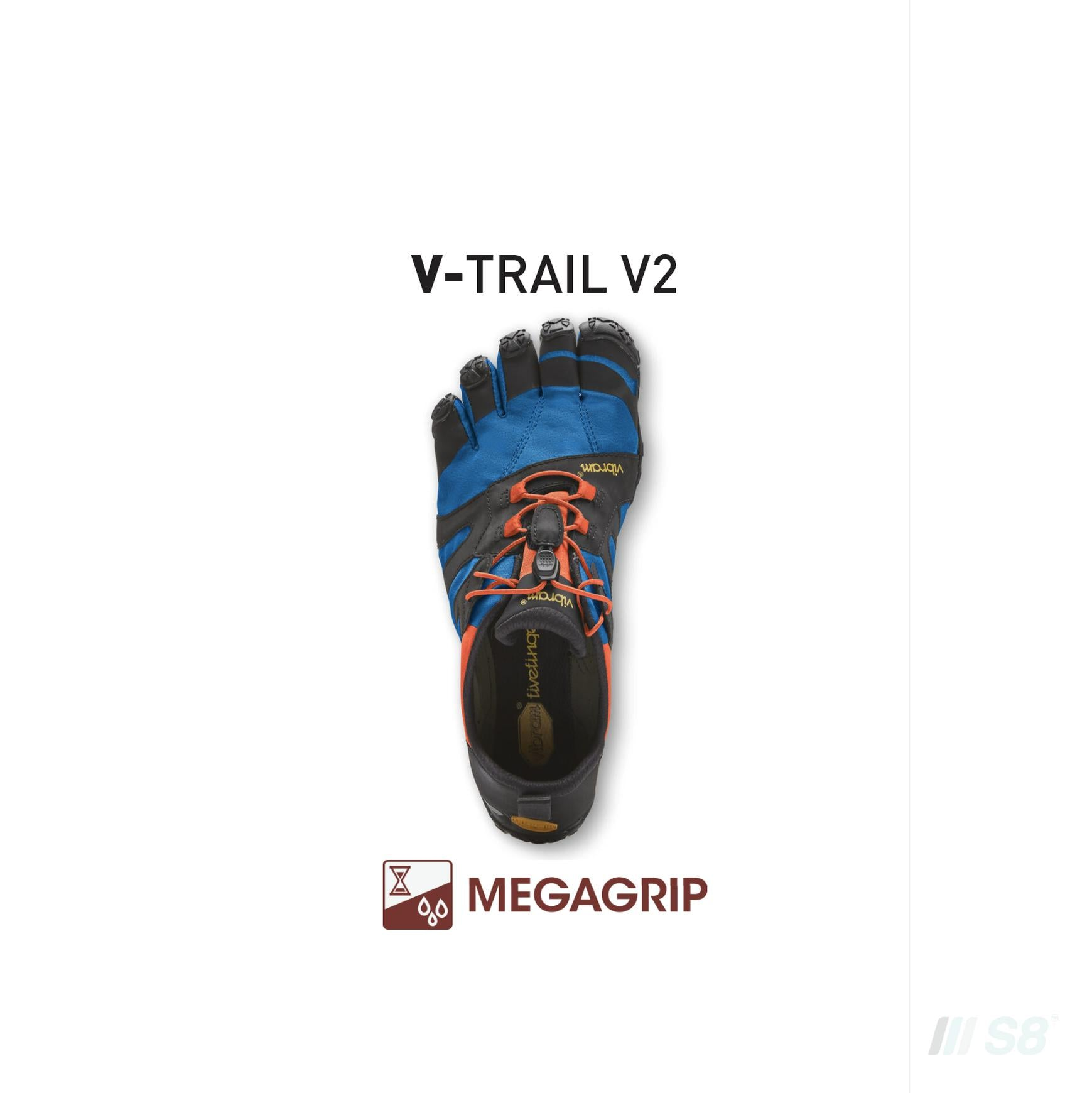 V-TRAIL V2 – Mens (Blue)-Vibram FiveFingers-S8 Products Group