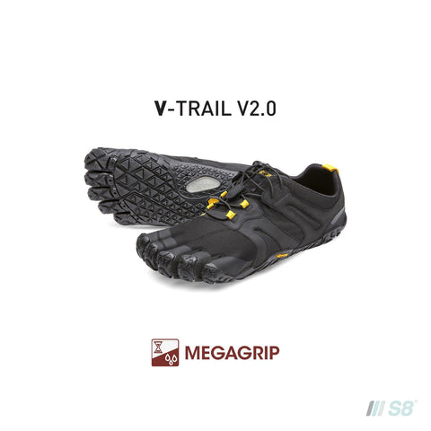 V-TRAIL V2 – Womens (Black)-Vibram FiveFingers-S8 Products Group