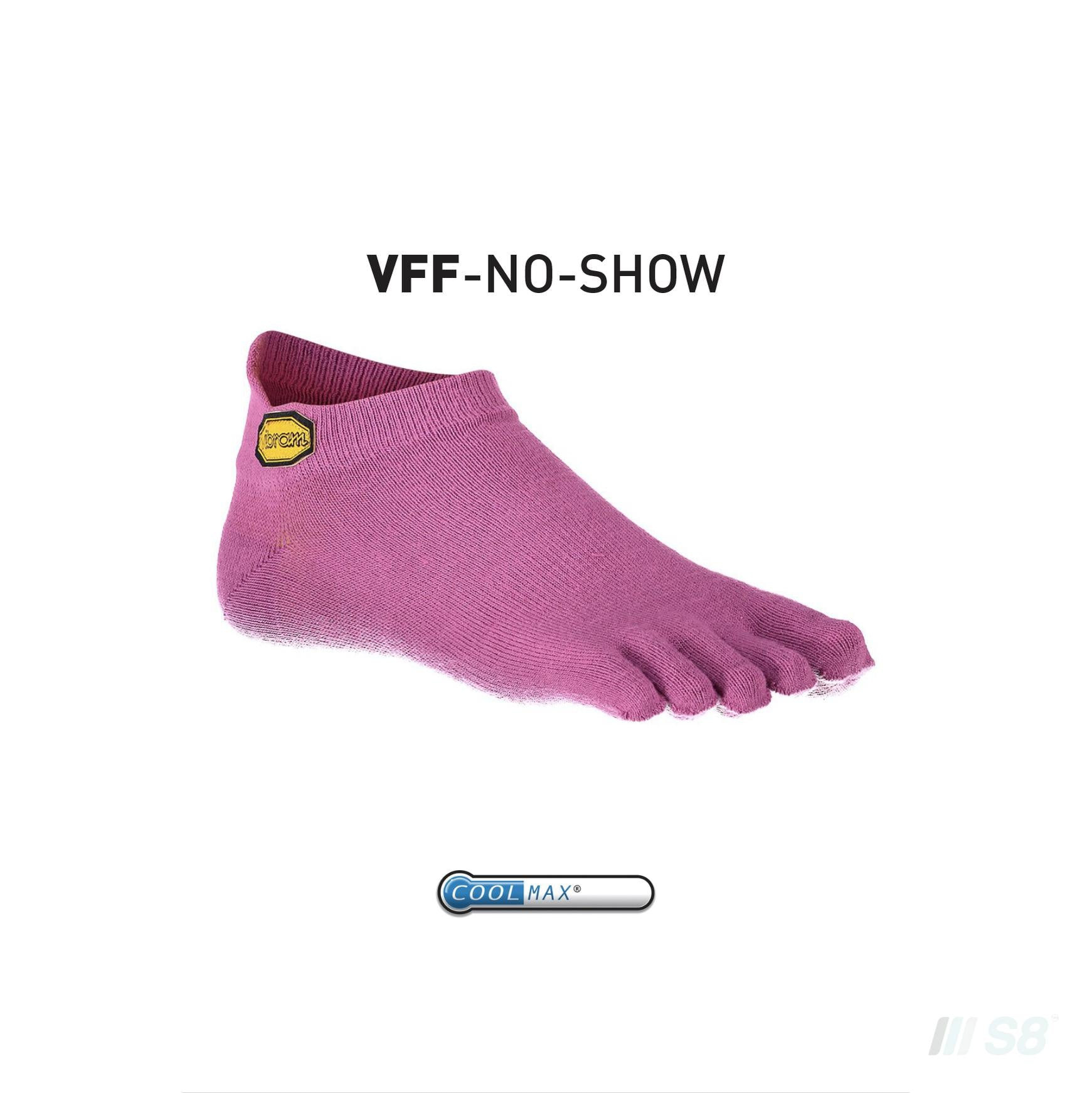 Vibram NoShow Socks (Purple)-Vibram FiveFingers-S8 Products Group