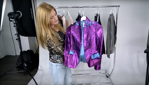 Susie Wall Style Tips: Shimmer & Shine