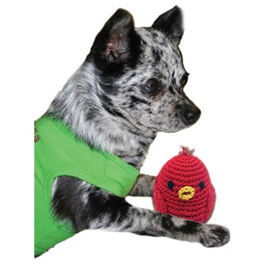 Rockin Robin Small Organic Cotton Toy | Here, Cricket! A Pet Boutique for Pretentious Pets