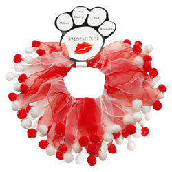 Red and White Smoocher | Here, Cricket! A Pet Boutique for Pretentious Pets