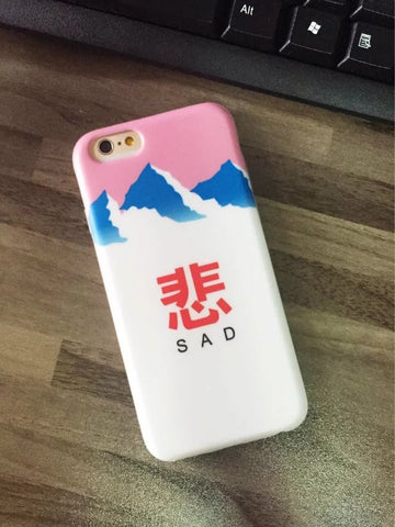 SAD FUJI iPhone Case