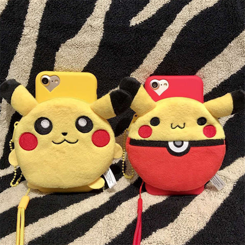 PIKACHU Plush Case