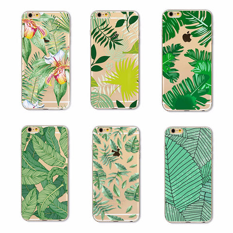 LUSH VIBES Transparent Soft Case