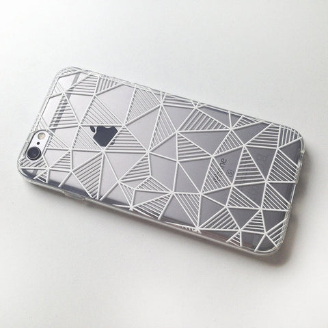 GEOMETRIC Transparent Soft Case