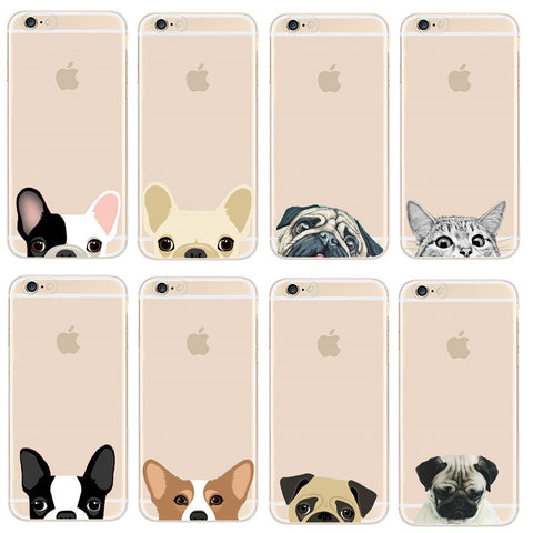 PETS TRANSPARENT Soft Case