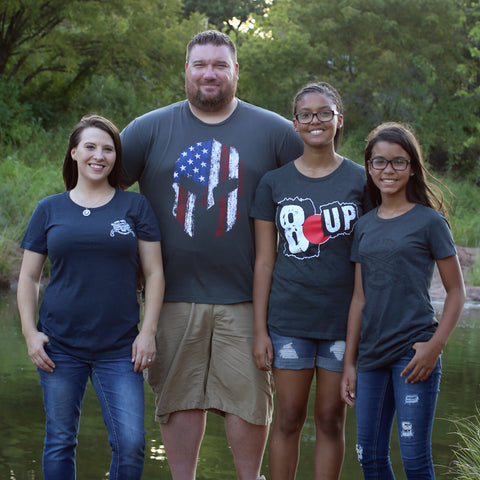 Zach and Family - Two Vets Clothing Co.