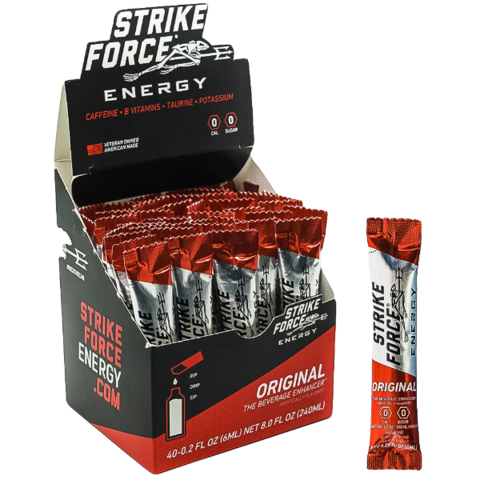 Strike Force Energy, 40 Count Box - Original Flavor