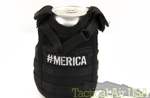Tactical Koozie - Black Merica