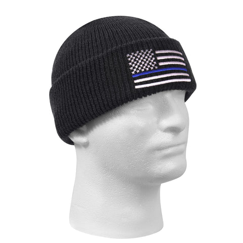 Blue Line Watch Cap