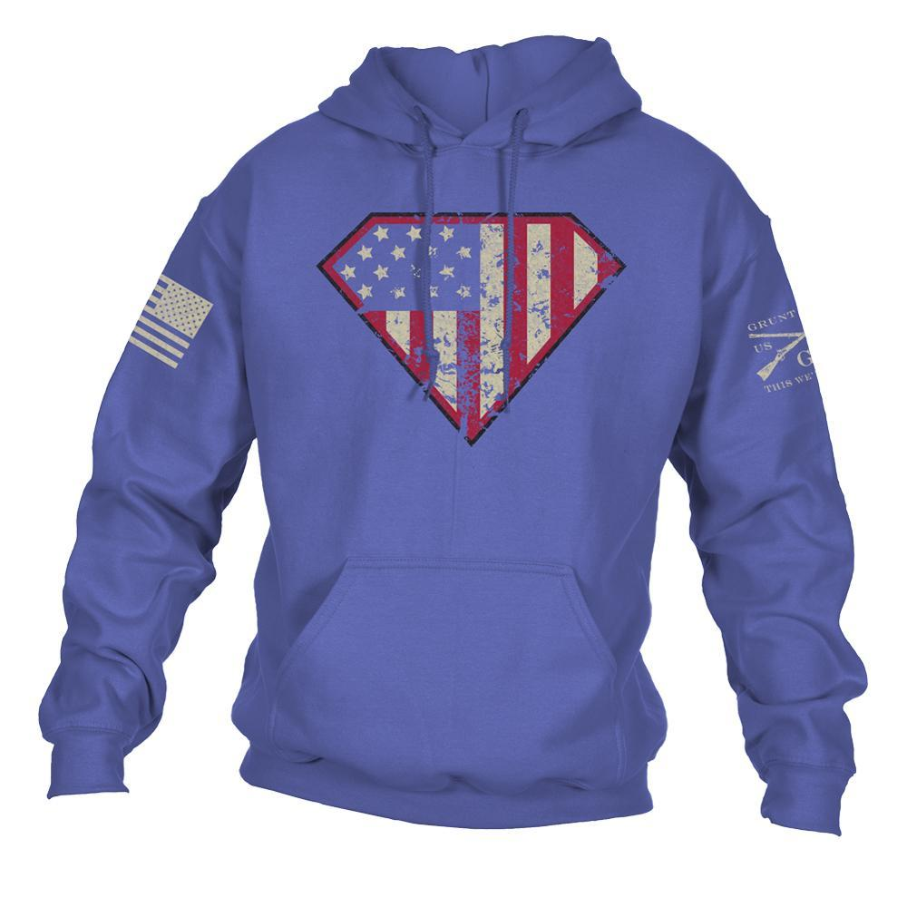 Super Patriot Hoodie - Blue