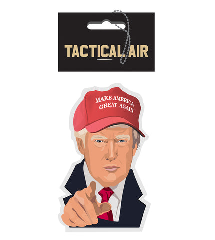 "DONALD J. TRUMP ""MAKE AMERICA GREAT AGAIN"" AIR FRESHENER"