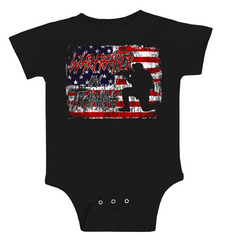 Warfighter in Training Onesie  - Black