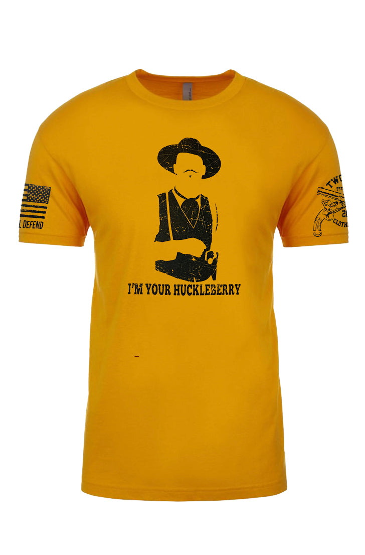 Huckleberry Men's T-Shirt - Gold