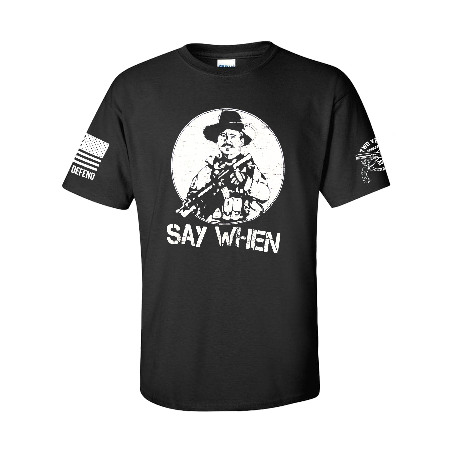 Say When Men's T-Shirt - Black