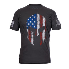 Spartan Helmet Men's T-Shirt, Two Vets Clothing Co.