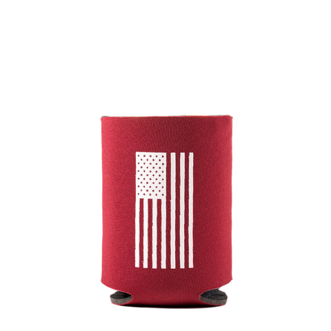 Two Vets Clothing Koozie - Red