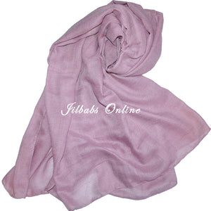 SOFT COTTON/VISCOSE SCARF PINK - jilbabs online