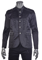Black Braided Jackson Deluxe Jacket