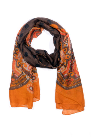 "MULTI-COLOR ""PITTI"" PRINT SCARF"