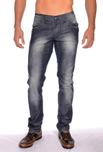 Medium Wash Blue Jeans
