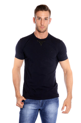 KYBALD SHORT SLEEVE TSHIRT NAVY BLUE