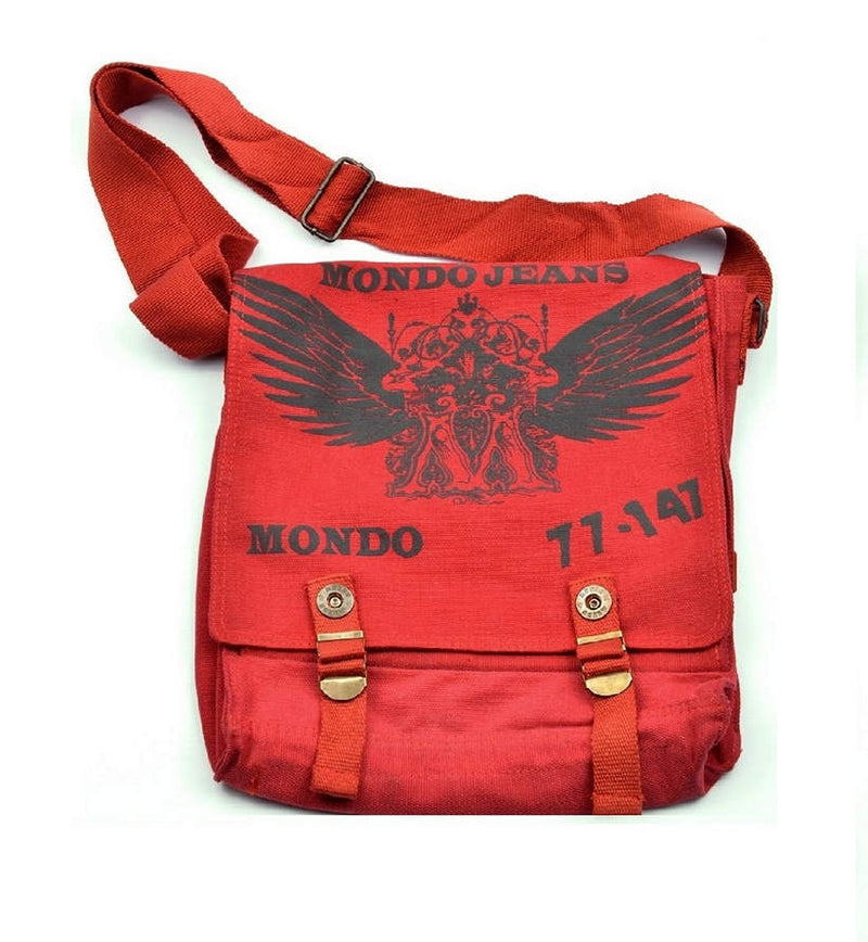 Red Canvas Bag