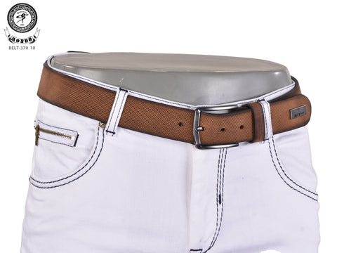 Brown  Saffiano Leather Belt