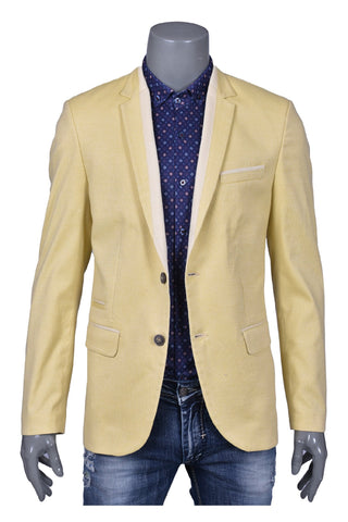 YELLOW SPORT BLAZER