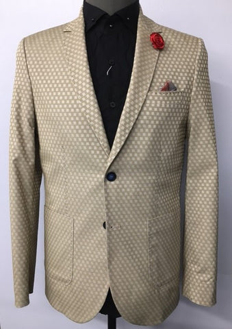 "BROWN ""BRIGHTON"" BLAZER"