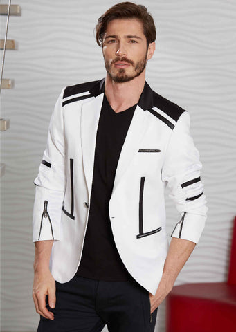 BLACK & WHITE EXCLUSIVE BLAZER