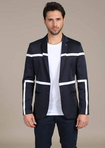 NAVY LIGHTWEIGHT DENIM BLAZER