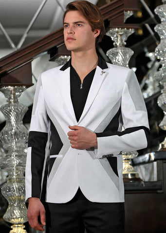 "White Black ""Dream"" Blazer"