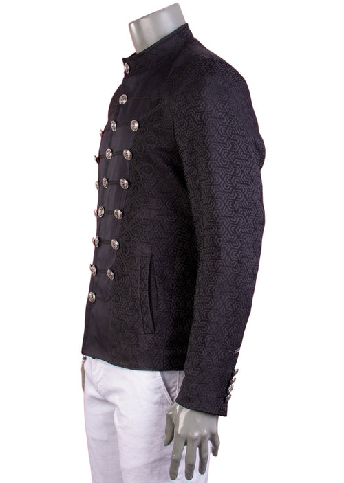 Black Braided Jacquard Deluxe Jacket