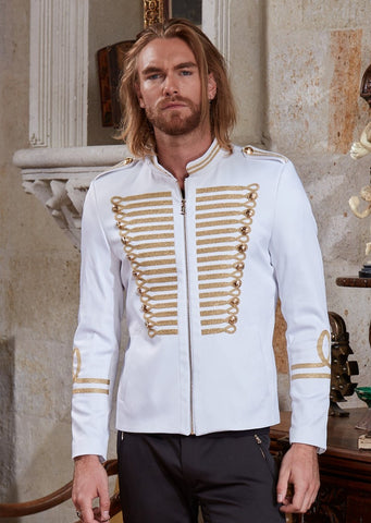 White Gold Limited Edition Embroidery Jacket
