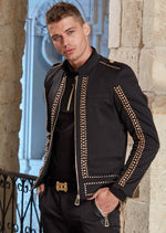 "Black Gold ""Limited Edition"" Studded Jacket"