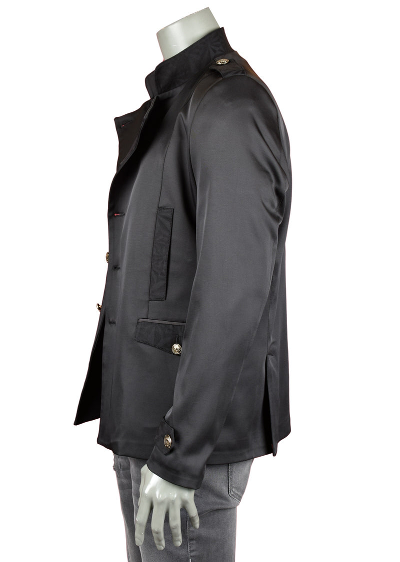Black Double Breast Deluxe Jacket