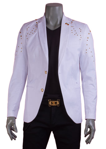 Black Limited Edition Studded Blazer