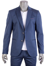Blue Luxe Comfort Stretchy Blazer