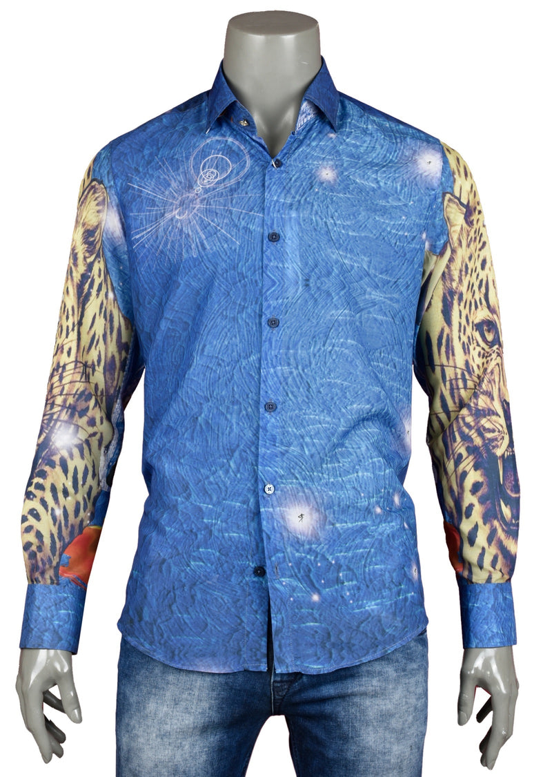 "Tiger ""Limited Edition"" Silky Long Sleeve Shirt"