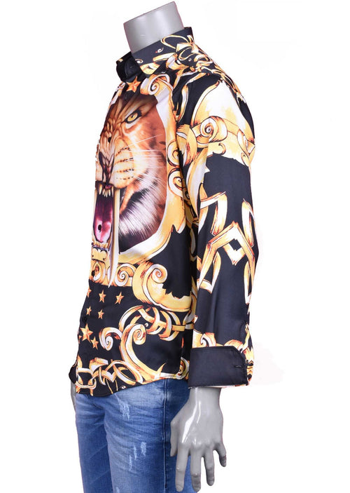 "Lion Star ""Limited Edition"" Silky Shirt"