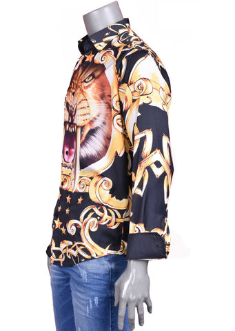 "Lion Star ""Limited Edition"" Silky Long Sleeve Shirt"
