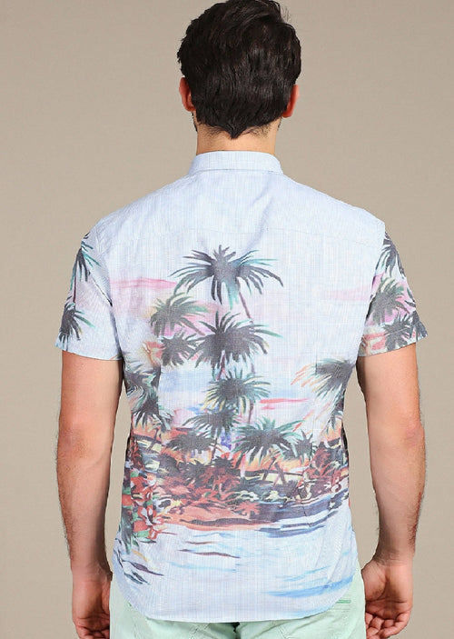 Sunset Serenade Sport Shirt