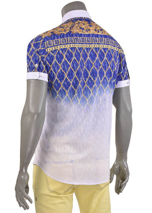 Blue Gold Alexander Devoré Shirt