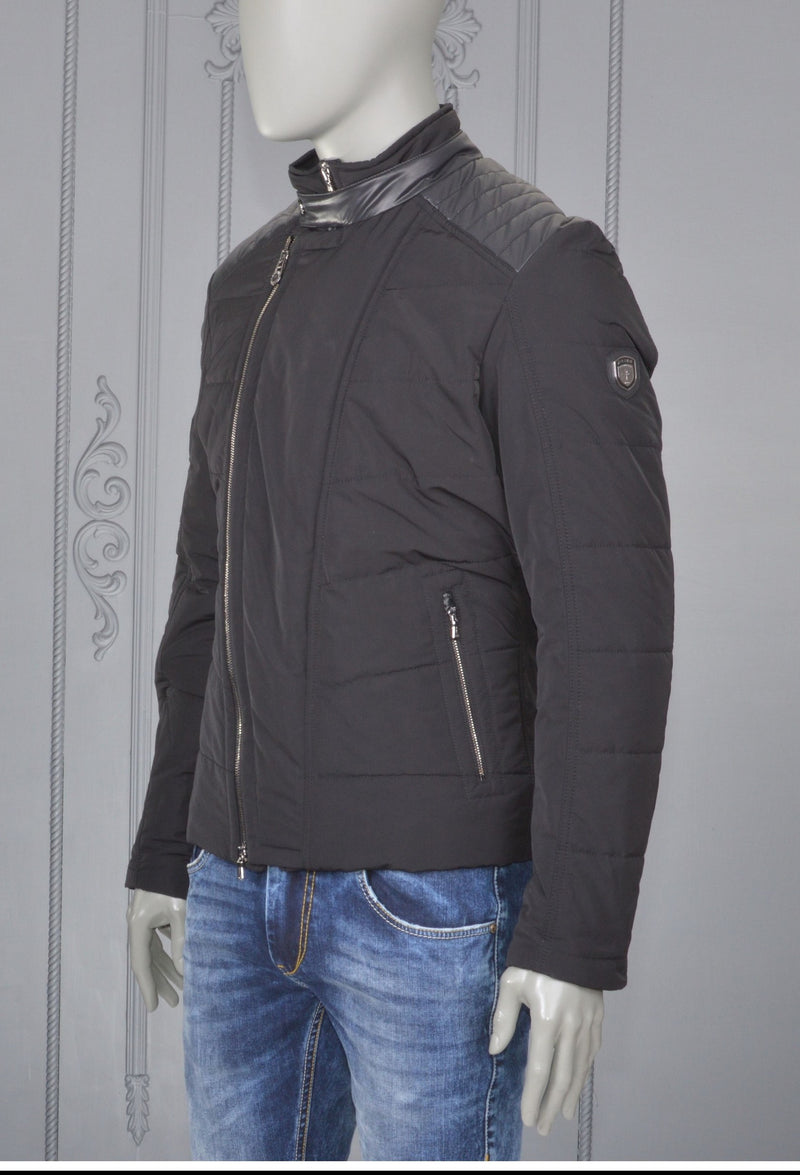 Black Auxis Nylon Jacket